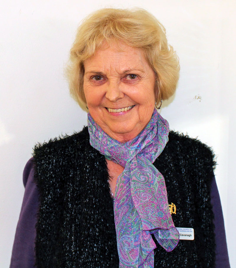 NCWQ Bursary Coordinator, Kathy Cavanagh
