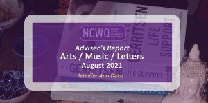 Arts Report August 2021