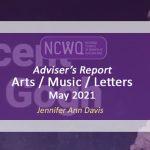 Arts Report June - July 2021