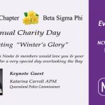 Epsilon Chapter Beta Sigma Phi for their Annual Charity Day