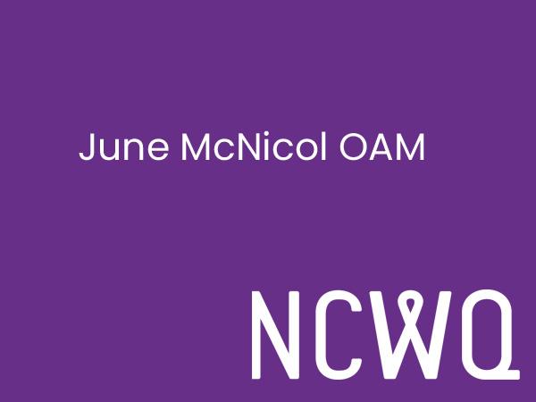 June McNicol OAM Science Bursary