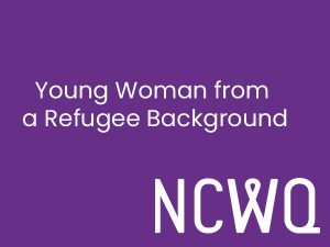 Young Woman from a Refugee Background Bursary