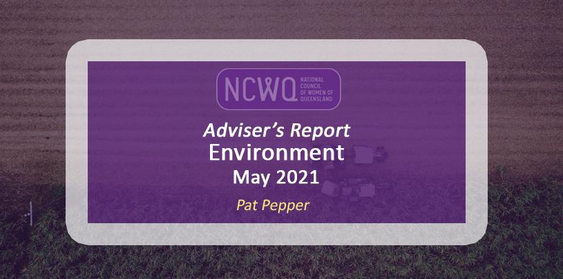 NCWQ Environment Report, May 2021