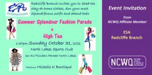 ESA Fashion parade event 31 October 2021