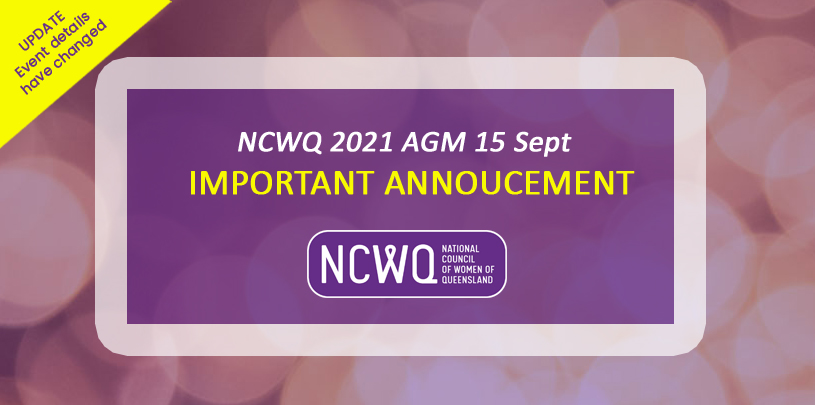 2021 Annual General Meeting, followed by the President's lunch. Important update changes