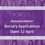 Applications for the NCWQ Bursary Program open on Monday 12 April 2021.