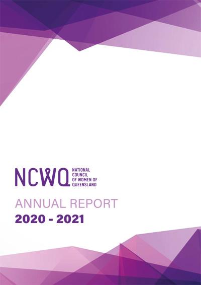 2021 NCWQ Annual Report