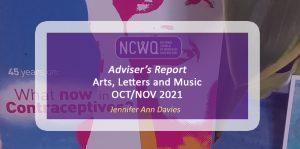 Arts Report October-November 2021