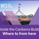 NCWQ Council Meeting 22 April - Outside the Canberra Bubble