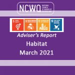 NCWQ Habitat Adviser's Report