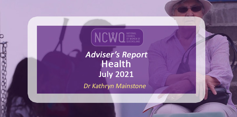 NCWQ Health report - Social Isolation