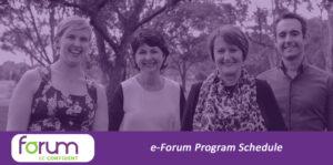 NCWQ Affiliate Partner Promotion - Forum E-Forum program