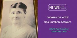 Women Of Note - Zina Cumbrae Stewart