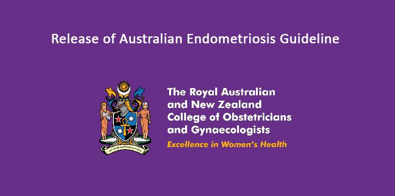 Release of Australian Endometriosis Guideline